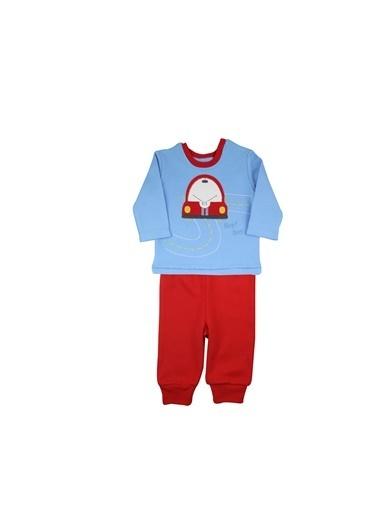 Baby Corner Pijama Takım Kırmızı